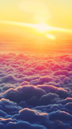 Sunrise Above the Clouds wallpapers, Sunrise Above the Clouds stock photos, Iphone Wallpaper Sky, Cloud Wallpaper, Tumblr Wallpaper, Phone Backgrounds, Wallpaper Backgrounds, Sunrise Wallpaper, Screen Wallpaper, Aerial Photography, Nature Photography