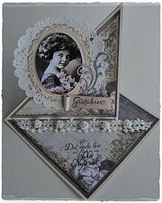 Velkommen inn: Twister staffelikort Easel Cards, Marianne Design, Frame, Handmade, Scrapbooking, Decor, Ideas, Cards, Vintage Maps