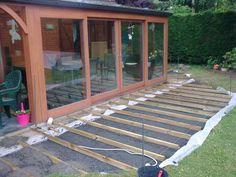 Terrasse bois Instructions de montage Do-it-yourself