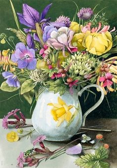 Flowers in the Pitcher
