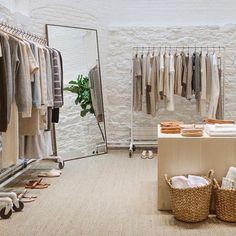 Likes, 15 Comments - Jenni Kayne Clothing Boutique Interior, Clothing Store Design, Boutique Interior Design, Boutique Decor, Fashion Store Design, Modegeschäft Design, Chair Design, Store Layout, Store Interiors