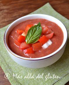 """Más allá del gluten...: Sopa de Tomate """"Viva"""" (Receta SCD, GFCFSF, Vegana, RAW, Gerson)"""