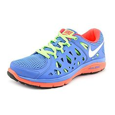 quality design 40959 8314b Amazon.com   Nike Women s WMNS DUAL FUSION RUN 2, DISTANCE BLUE   METALLIC  SUMMIT   WHITE FLASH   LIME, 7.5 M US   Running