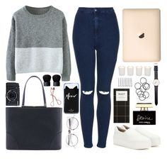 """""""Sweater Weather"""" by trendytomato ❤ liked on Polyvore featuring MCM, Fujifilm, Topshop, H&M, Opening Ceremony, BOBBY, Kate Spade, Witchery, Daniel Wellington and Dolce&Gabbana"""