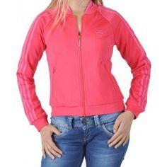 Joggings & Survêtements adidas Originals Veste  Spergirl V32777 Rose Rose 350x350
