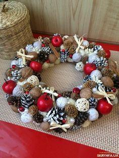 венок, рождество, рождественский декор, подарок, новогодний декор, новый год, новый год и рождество,
