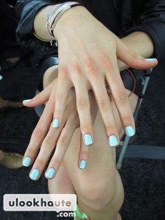 essie - candy apple nail polish as seen at rebecca minkoff