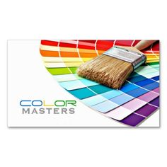 Painting, Painter, Construction, Design Business Cards created by olicheldesign. This design is available on several paper types and is totally customizable. Construction Business Cards, Construction Design, Cool Business Cards, Custom Business Cards, Exterior Wood Stain, Paint Companies, Interior Paint Colors, Paint Colours, Paint Samples