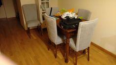 Un juego de sillas restauradas ¡que parecen nuevas!