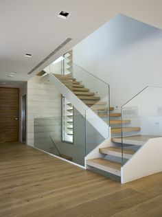 Modern Staircase Design Ideas - Browse motivational photos of modern stairs. With treads and also ra