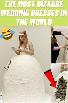 #Most #Bizarre #Wedding #Dresses #World Lesbian Outfits, Indie Outfits, Retro Outfits, Stylish Outfits, Funny Troll, Funny Laugh, Funny Cats, Mom Tattoos, Trendy Tattoos