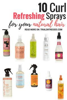 curl refreshing sprays for natural hair