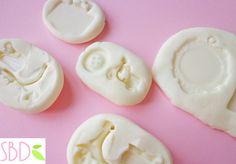 Gomma rubaforma Fai da te tutorial - DIY Silicone molds home made