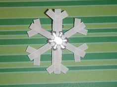 snowflake - build this from different size rectangles and maybe add in triangles
