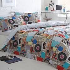 Ben de lisi home white comic map bedding set at debenhams related image gumiabroncs Image collections