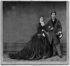 Empress Elisabeth of Austria with her cousin and dear friend, King Ludwig II of Bavaria.