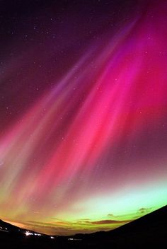 The northern lights in the UK photographed by aurora borealis expert Jim / B.