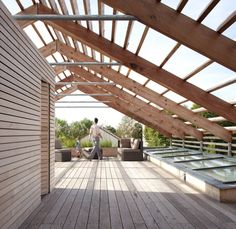 33 Ideas for Your Outdoor Space: Pergola Design Ideas and Terraces Ideas Architecture Durable, Wood Architecture, Sustainable Architecture, Diy Pergola, Gazebo, Pergola Ideas, Pergola Kits, Outdoor Pergola, Modern Pergola