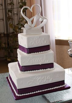 cute cake idea. I would probably get different words.