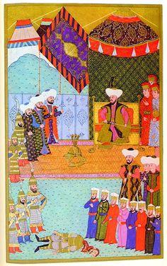 Murad II and John Hunyadi