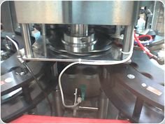 Capper synchronization sensor. Capper Synchronization sensor installed in a Mexican plant franchisee of Coca-Cola®
