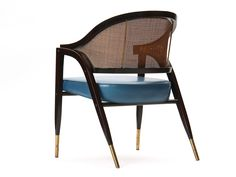 """""""A-frame"""" chair by Edward Wormley 