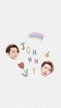 Silk Wallpaper, Name Wallpaper, Nct 127 Johnny, Best Kpop, Jaehyun, Nct Dream, Cute Drawings, Location History, Cute Wallpapers