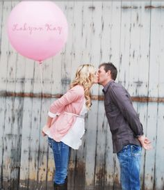 Gender reveal photo - doing this next week for a client!!