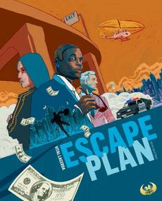 Escape Plan Kickstarter The Mastermind Pledge Board Game Shelf, Fun Board Games, Game Design, Games For Kids, Games To Play, Fear Game, Connect Games, Game Prices, Board Games