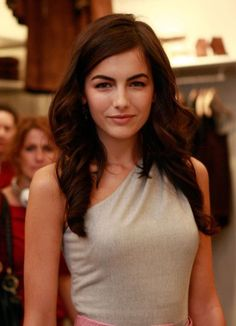 Camilla Belle Long Curls - Camilla Belle added some length to her shoulder length tresses. Large curls completed her side swept locks. Curl Styles, Long Hair Styles, Trendy Hairstyles, Wedding Hairstyles, Camila Belle, Long Curls, Fashion Night, Beautiful Actresses, Pretty Face