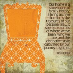 Our home is a storehouse...
