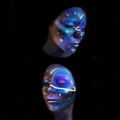 Galaxy makeup 💫🌌
