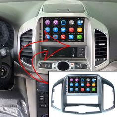 Upgraded Original Android Car Radio Player Suit to Chevrolet Captiva 2011-2013 Car Video Player Built in WiFi GPS Bluetooth