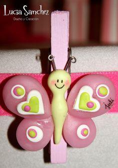 Broche mariposa * LuS diseño * Feria Central