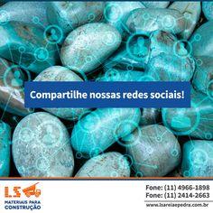 Compartilhe nossas redes sociais. Além do Facebook, estamos presentes no Twitter e também no Linkedin.  Twitter: https://twitter.com/lsareiaepedra?lang=pt  Linkedin: https://www.linkedin.com/…/ls-materiais-para-constru%C3%A7%…