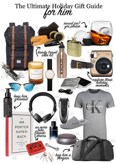22 GIFT IDEAS FOR HIM THIS HOLIDAY SEASON