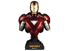 Hot Toys ( Hot Toys ) Iron Man ( Iron Man ) 2 1/4 Scale Collectible Bust Iron Man ( Iron Man ) Mark  @ niftywarehouse.com #NiftyWarehouse #IronMan #Iron-man #Marvel #Avengers #TheAvengers #ComicBooks #Movies