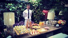 En el momento del aperitivo recordamos el magnifico Catering de #SamanthaDeEspaña @samyspain  Fantástica presentación creativa de #AbrahamMenendez en #Guáimaro Velazquez 48 @equiposingular