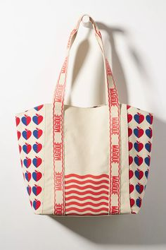 Hotel Magique for Anthropologie Love and Magique Tote Bag | Anthropologie Diaper Bag, Gym Bag, Printed Tote Bags, Anthropologie, Best Brand, Paper Goods, Product Launch, Art Prints, Collaboration