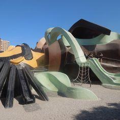 Parques infantiles que entusiasman a los mayores #parque #infantil
