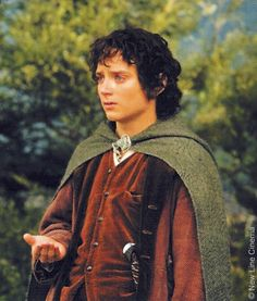 Oh dear Frodo! He shows us that despite all the difficulties he went through he stayed pure hearted and inspiration to us all that a single person, with a little help of friends, can rise above evil.