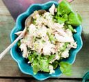 Recept: Risotto met gerookte makreel Clean Recipes, Healthy Recipes, Healthy Food, Lettuce, Salad Recipes, Potato Salad, Curry, Good Food, Pasta