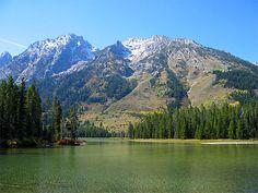 "String Lake, Grand Teton N.P. -- my ""happy place""!"