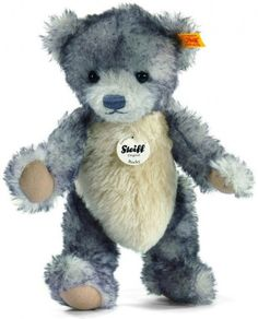 """New 10"""" Steiff My First Steiff Bear Plush Baby Boy Blue Embroidered Eyes Nwt Providing Amenities For The People; Making Life Easier For The Population Bears Artist"""