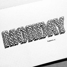 By @rigourstudio #handmadefont #lettering #letters #font #design #typedesign #typographyinspired #thedailytype #fonts #inspiration #art #welovetype #typelove #ilovetypography #customtype #handtype #goodtype #illustration #artdigital #handwritten #handtype #calligraphy #typelove #goodtype #welovetype #customtype #poster #art #visual by handmadefont