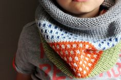 NEW kids knit cowl in CONFETTI vegan friendly by thehouseofhemp