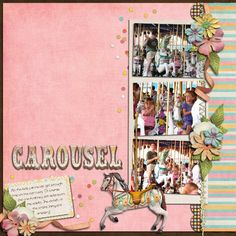 Carousel: Cinderella's Golden / Prince Charming Royal - Page 8 - MouseScrappers.com