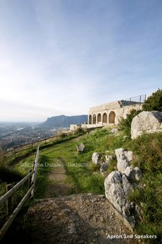 Apron and Sneakers | Temple of Jupiter Anxur in Terracina, Italy