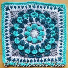 Ravelry: Marigold Mandala Square pattern by Dorianna Rivelli
