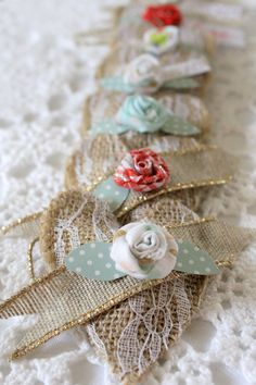 How to make burlap hearts, small, treat pockets, crafts for Valentine's Day, burlap